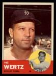1963 Topps #348  Vic Wertz  Front Thumbnail