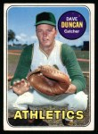 1969 Topps #68  Dave Duncan  Front Thumbnail