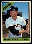 1966 Topps #106  Rusty Staub  Front Thumbnail
