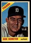 1966 Topps #98  Don Demeter  Front Thumbnail