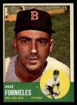 1963 Topps #28 ^COR^ Mike Fornieles  Front Thumbnail