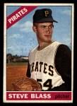 1966 Topps #344  Steve Blass  Front Thumbnail