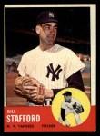 1963 Topps #155  Bill Stafford  Front Thumbnail