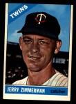 1966 Topps #73 xSTR Jerry Zimmerman   Front Thumbnail