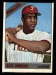 1966 Topps #104 ^TR^ Alex Johnson  Front Thumbnail