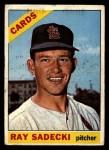 1966 Topps #26  Ray Sadecki  Front Thumbnail