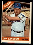 1966 Topps #43 xBTN Don Landrum   Front Thumbnail