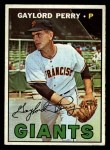 1967 Topps #320  Gaylord Perry  Front Thumbnail