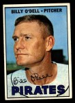 1967 Topps #162  Billy O'Dell  Front Thumbnail