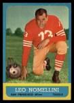 1963 Topps #143  Leo Nomellini  Front Thumbnail