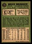 1967 Topps #276  Bruce Brubaker  Back Thumbnail