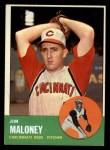 1963 Topps #444  Jim Maloney  Front Thumbnail