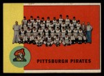 1963 Topps #151   Pirates Team Front Thumbnail