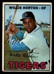 1967 Topps #465  Willie Horton  Front Thumbnail