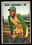 1967 Topps #344  Ossie Chavarria  Front Thumbnail