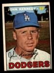 1967 Topps #111  John Kennedy  Front Thumbnail