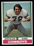 1974 Topps #80 ONE John Niland  Front Thumbnail