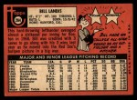 1969 Topps #264  Bill Landis  Back Thumbnail