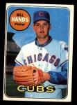 1969 Topps #115  Bill Hands  Front Thumbnail