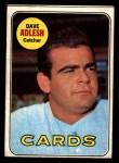 1969 Topps #341  Dave Adlesh  Front Thumbnail