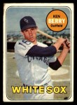 1969 Topps #494  Ken Berry  Front Thumbnail
