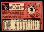 1969 Topps #247  Gene Oliver  Back Thumbnail