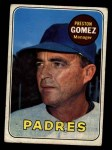 1969 Topps #74  Preston Gomez  Front Thumbnail