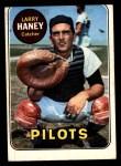 1969 Topps #209  Larry Haney  Front Thumbnail