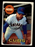 1969 Topps #43  Joe Niekro  Front Thumbnail
