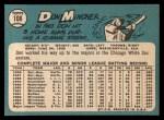 1965 Topps #108  Don Mincher  Back Thumbnail