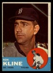 1963 Topps #84  Ron Kline  Front Thumbnail