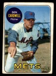 1969 Topps #193  Don Cardwell  Front Thumbnail