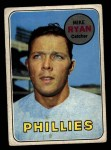 1969 Topps #28  Mike Ryan  Front Thumbnail