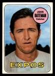 1969 Topps #138  John Bateman  Front Thumbnail