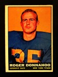 1961 Topps #156  Roger Donnahoo  Front Thumbnail