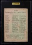 1911 T3 Turkey Red #100  Davy Jones   Back Thumbnail
