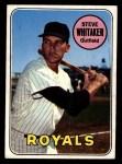 1969 Topps #71  Steve Whitaker  Front Thumbnail