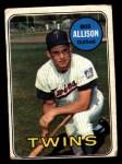 1969 Topps #30  Bob Allison  Front Thumbnail