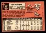 1969 Topps #393  Gene Brabender  Back Thumbnail