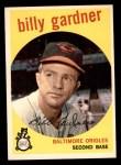 1959 Topps #89  Billy Gardner  Front Thumbnail