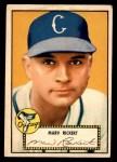 1952 Topps #50 RED Marv Rickert  Front Thumbnail