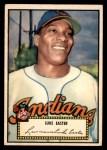 1952 Topps #24 RED Luke Easter  Front Thumbnail
