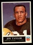 1965 Philadelphia #82  Jim Taylor   Front Thumbnail