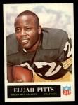 1965 Philadelphia #80  Elijah Pitts   Front Thumbnail