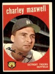 1959 Topps #481  Charley Maxwell  Front Thumbnail