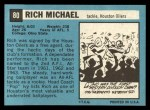 1964 Topps #80  Rich Michael  Back Thumbnail