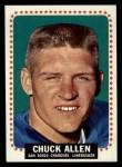 1964 Topps #154  Chuck Allen  Front Thumbnail