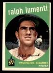 1959 Topps #316 xOPT Ralph Lumenti  Front Thumbnail