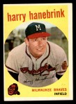1959 Topps #322 xTR Harry Hanebrink  Front Thumbnail