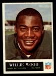 1965 Philadelphia #83  Willie Wood   Front Thumbnail